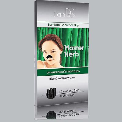 Очищающий пластырь для носа «Бамбуковый уголь», шт
