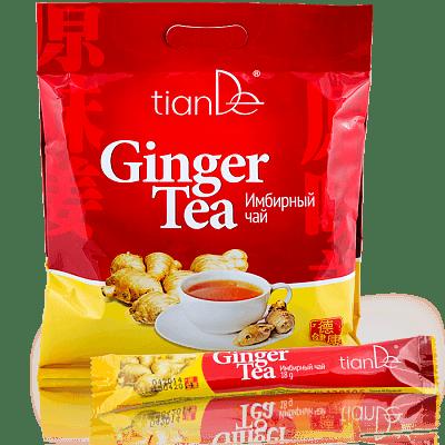 Имбирный чай, 1 пакетик, 18г