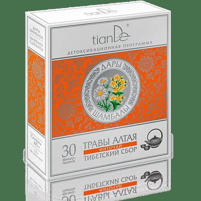 Фиточай Тибетский сбор, 30 фильтр-пакетов
