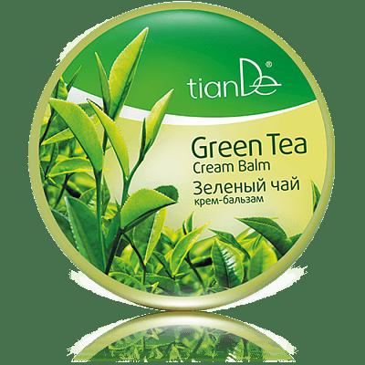 Крем-бальзам для волос Зеленый чай, 300г