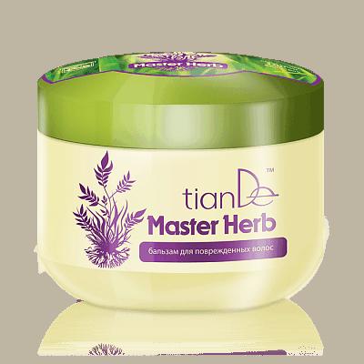 Крем-бальзам для поврежденных волос Master Herb, 500 г