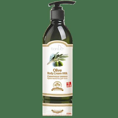 Крем-молочко для тела Солнечные оливки, 350 г