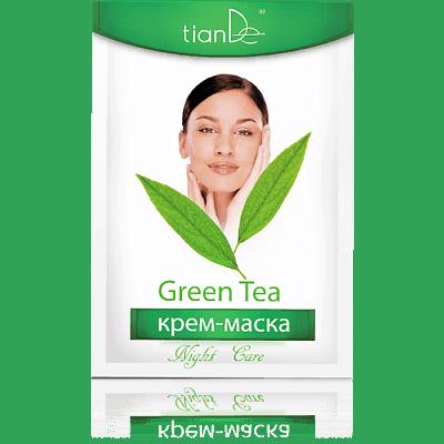 Крем-маска ночная Зеленый чай, 18 г
