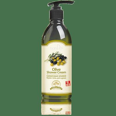 Крем-гель для душа Солнечные оливки, 350 г