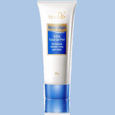 Активный пилинг-гель для лица Marine Collagen