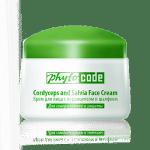 Крем для лица с кордицепсом и шалфеем, 50 г