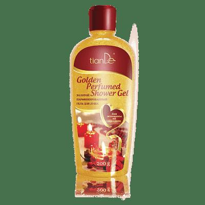 Золотой парфюмированный гель для душа, 200 г