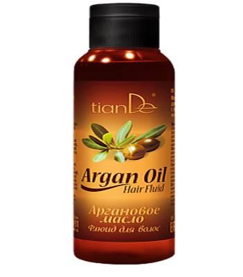 Аргановое масло флюид для волос, 50мл