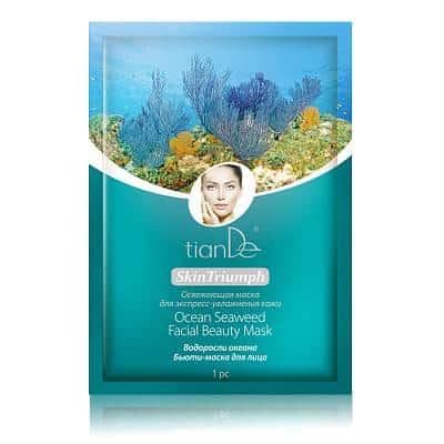 Бьюти-маска для лица «Водоросли океана», 1 шт